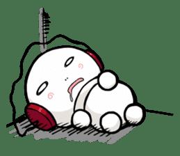 Hara Yumi's MaruMaru Radio Stamp sticker #83318