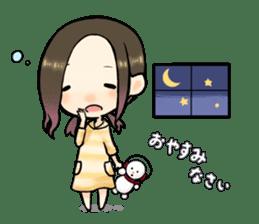 Hara Yumi's MaruMaru Radio Stamp sticker #83337