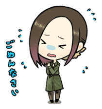 Hara Yumi's MaruMaru Radio Stamp sticker #83345