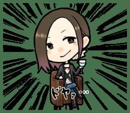 Hara Yumi's MaruMaru Radio Stamp sticker #83346