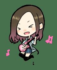 Hara Yumi's MaruMaru Radio Stamp sticker #83354