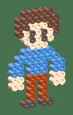 Beads kids sticker #83437
