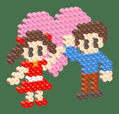Beads kids sticker #83438
