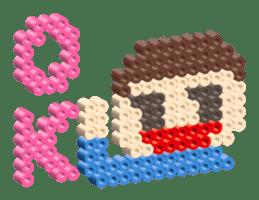 Beads kids sticker #83442