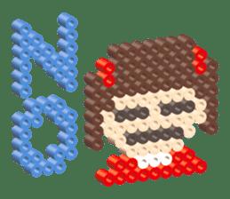 Beads kids sticker #83443