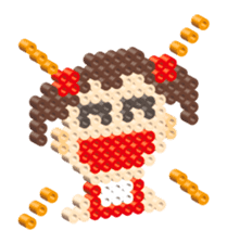 Beads kids sticker #83447