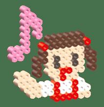 Beads kids sticker #83448