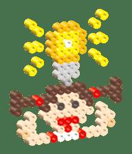 Beads kids sticker #83450