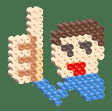 Beads kids sticker #83453