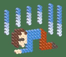 Beads kids sticker #83457