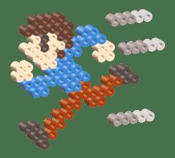 Beads kids sticker #83461