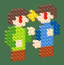 Beads kids sticker #83462