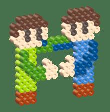 Beads kids sticker #83463