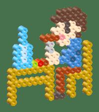 Beads kids sticker #83467