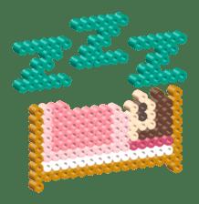 Beads kids sticker #83473
