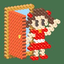 Beads kids sticker #83474