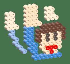 Beads kids sticker #83475