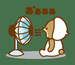 CREAM BABY BEAR sticker #83573