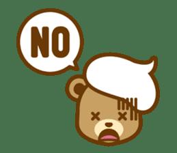CREAM BABY BEAR sticker #83584