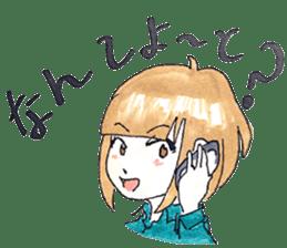hakata girl and kitakyu boy sticker #83956