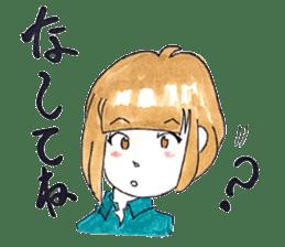 hakata girl and kitakyu boy sticker #83966