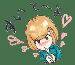 hakata girl and kitakyu boy sticker #83972