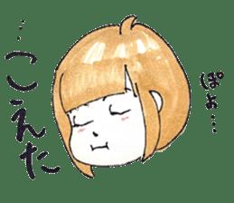 hakata girl and kitakyu boy sticker #83974