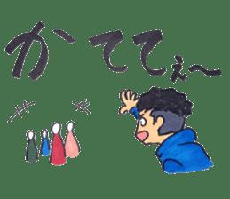 hakata girl and kitakyu boy sticker #83979