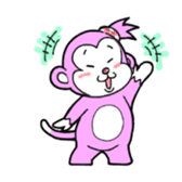 Momo-chan sticker #84236