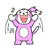 Momo-chan sticker #84246