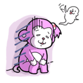 Momo-chan sticker #84254