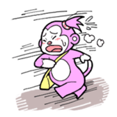 Momo-chan sticker #84259