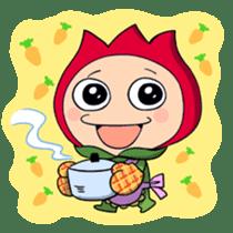 kawaii flowers sticker #84802