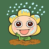 kawaii flowers sticker #84816