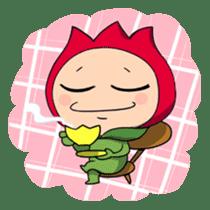 kawaii flowers sticker #84831