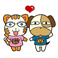 Cat and Dog dating