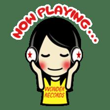 LOVE & MUSIC & PEACE !! sticker #85254