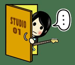 LOVE & MUSIC & PEACE !! sticker #85272