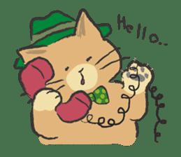 cat's day sticker #85278