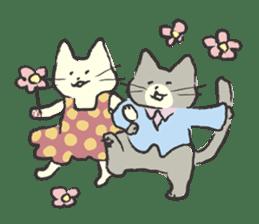 cat's day sticker #85279