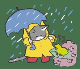 cat's day sticker #85280