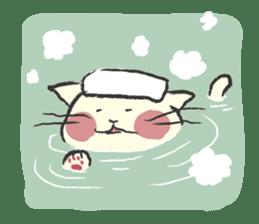 cat's day sticker #85284
