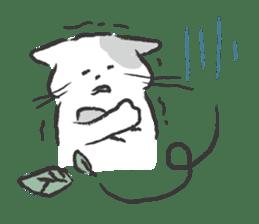 cat's day sticker #85291