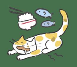 cat's day sticker #85295