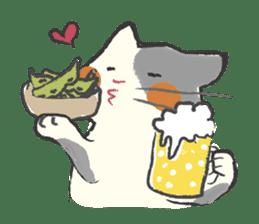 cat's day sticker #85304