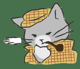 cat's day sticker #85306