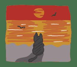 cat's day sticker #85307