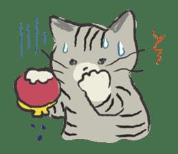 cat's day sticker #85314