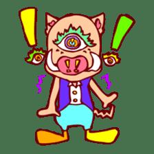 CrazY Eyes AniMaLS sticker #85536