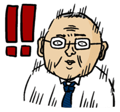 Ojisan Sticker sticker #85841